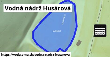 ilustračný obrázok k Vodná nádrž Husárová