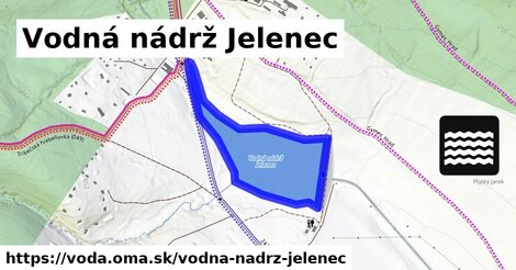 ilustračný obrázok k Vodná nádrž Jelenec