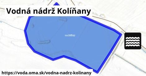 ilustračný obrázok k Vodná nádrž Kolíňany