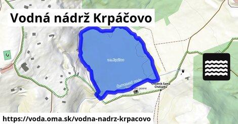 ilustračný obrázok k Vodná nádrž Krpáčovo
