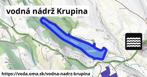 ilustračný obrázok k Vodná nádrž Krupina