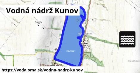ilustračný obrázok k Vodná nádrž Kunov
