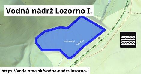 ilustračný obrázok k Vodná nádrž Lozorno I.
