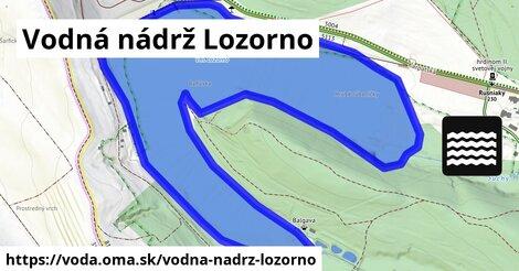 ilustračný obrázok k Vodná nádrž Lozorno