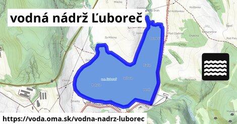 ilustračný obrázok k vodná nádrž Ľuboreč