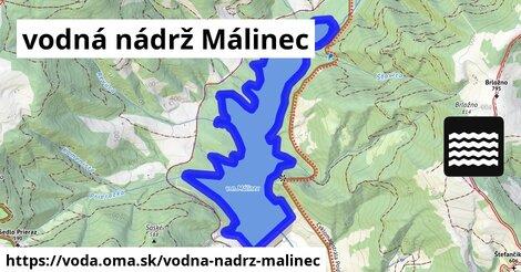 ilustračný obrázok k vodná nádrž Málinec