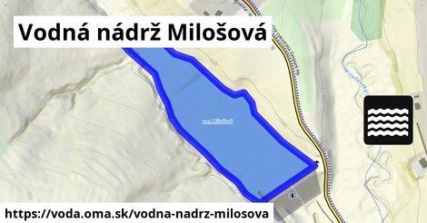 ilustračný obrázok k Vodná nádrž Milošová