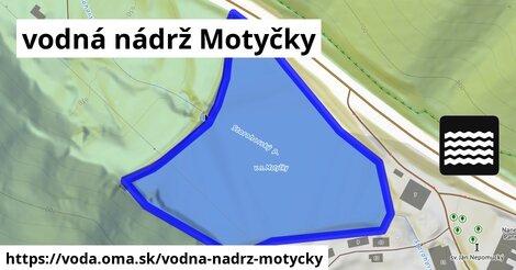 ilustračný obrázok k vodná nádrž Motyčky