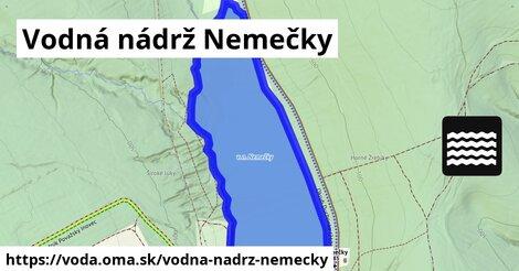 ilustračný obrázok k Vodná nádrž Nemečky