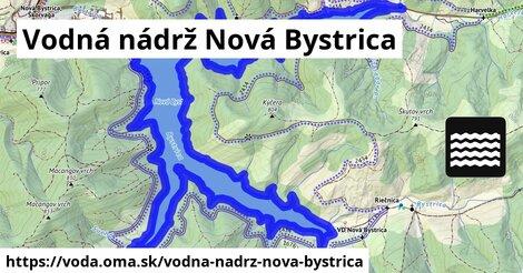 ilustračný obrázok k Vodná nádrž Nová Bystrica