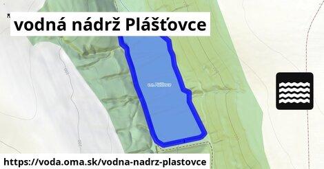 ilustračný obrázok k vodná nádrž Plášťovce