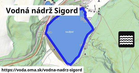 ilustračný obrázok k Vodná nádrž Sigord