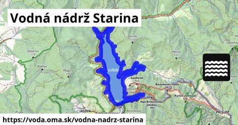 ilustračný obrázok k Vodná nádrž Starina