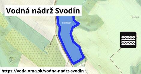 ilustračný obrázok k Vodná nádrž Svodín