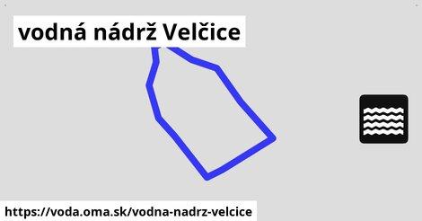 ilustračný obrázok k vodná nádrž Velčice
