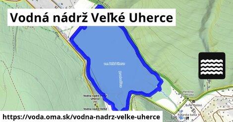 ilustračný obrázok k Vodná nádrž Veľké Uherce