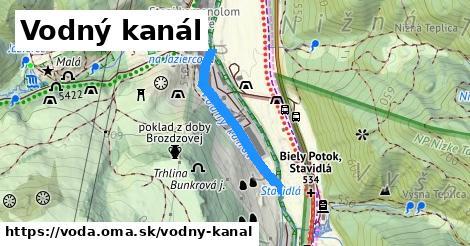 ilustračný obrázok k Vodný kanál