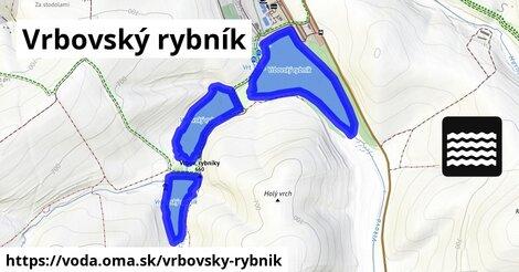 ilustračný obrázok k Vrbovský rybník