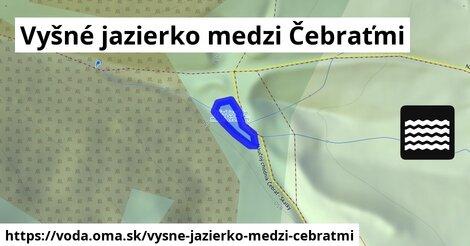 ilustračný obrázok k Vyšné jazierko medzi Čebraťmi