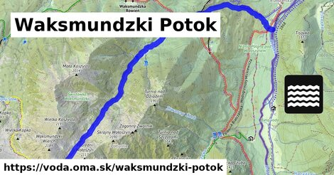 ilustračný obrázok k Waksmundzki Potok