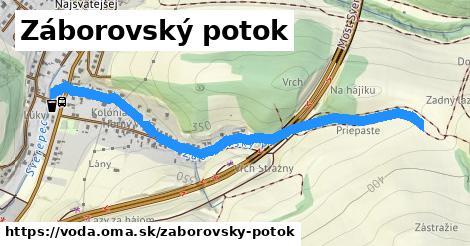 ilustračný obrázok k Záborovský potok