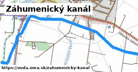 ilustračný obrázok k Záhumenický kanál