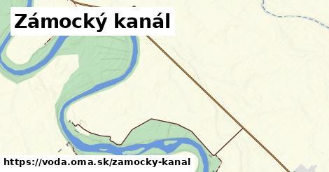 ilustračný obrázok k Zámocký kanál