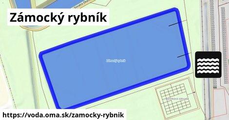 ilustračný obrázok k Zámocký rybník