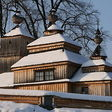 Drevené kostoly v slovenskej časti Karpát podla wikipedie