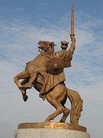 Socha_Svätopluka_na_Bratislavskom_hrade, zdroj wikipédia